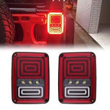 snake led light bar new snake style rear led reversing brake turn signal tail light for