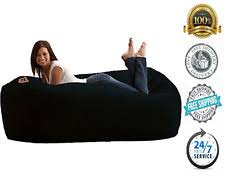 Bean Bag That Turns Into A Bed Large Bean Bag Chair Ebay