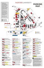 Vcu Map Transit Parking And Transportation Radford University