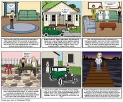 great gatsby long island the great gatsby chapter 1 storyboard by michael2144