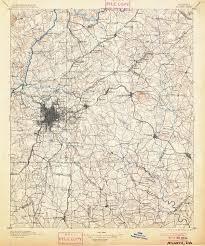 Atlanta Georgia Zip Code Map by Mapping Atlanta