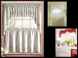 Bamboo Kitchen Curtains Kitchen Curtains Tiers Swags Galore Swag For Niavisdesign Tier Tab