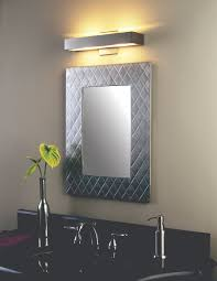 plaza large led surface mounted rectangular mirror features 2700k