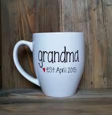 pregnancy announcement mug grandma mug grandpa mug