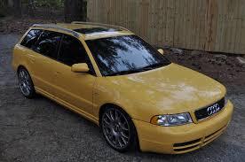 audi b5 s4 stage 3 wtt 2001 audi b5 s4 avant imola yellow stage 3 6 speed