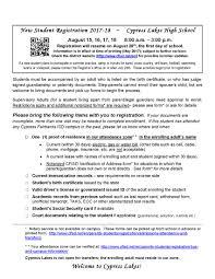 Sheridan Optimal Resume Cypress Lakes High Registrar