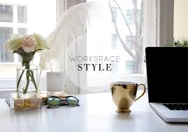 Chic Office Desk How To Style Your Desk