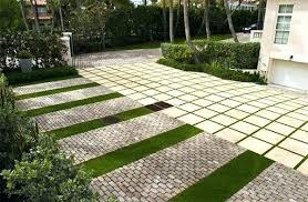 Paved Garden Ideas Paver Landscaping Ideas Driveway Edging Concrete