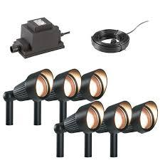 techmar spot light garden lighting package