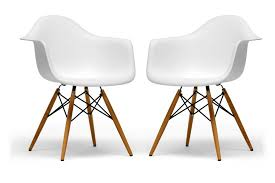 Eames Bistro Table Eames Inspired Molded Plastic Chair Sit Socialize And Enjoy