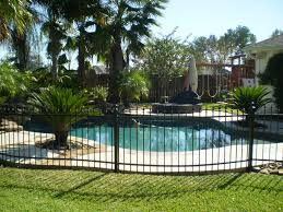 decor tips exciting rod iron fence design with lawn and great