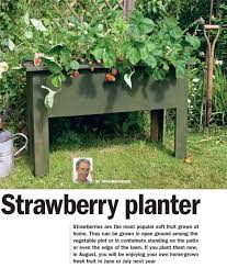 Diy Strawberry Planter by Strawberry Planter Home U0026 Diy Projects