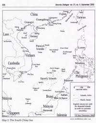 East China Sea Map by Legal And Political Maps The South China Sea
