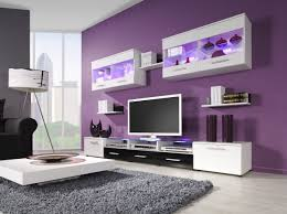 purple grey and white living room living room decoration