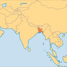 Map Of Bangladesh Bangladesh Operation World
