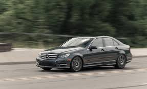 luxury mercedes sport 2013 mercedes benz c300 4matic sedan test u2013 review u2013 car and driver