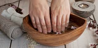 french manicure at home womens magazine advice for health