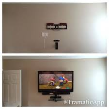 Tv Floating Shelves by Shelves 50 Samsung Tv With Soundbar Floating Glass Wall Shelf