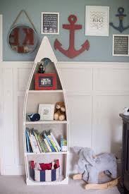 Canoe Bookcase Furniture 6 Foot Row Boat Bookshelf Bookcase Shelf Nautical Cabin And