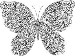 coloring page butterfly monarch monarch butterfly coloring pages www glocopro com