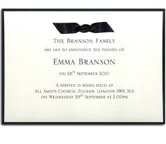 funeral service invitation funeral invitation template best memorial service ideas images on