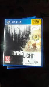 dying light playstation 4 ps4 dying light playstation 4 game in lambeth london gumtree