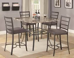 dinning metal bar stools counter height stools pub table sets bar