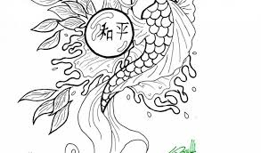 koi fish coloring pages sheetsfree coloring pages kids free