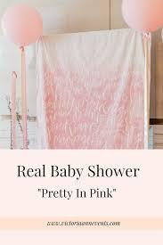 pretty in pink baby shower victoria ann events