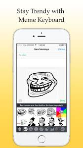 Meme Keyboard Iphone - meme keyboard new keys on the app store
