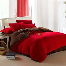 Poppy Bedding Comforter Red Comforter Sets Queen Red Poppy Comforter Red