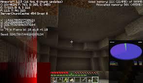 symmetrical cave room survival mode minecraft java edition