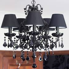 stunning new black chandeliers bedroom lowes courtagerivegauche com