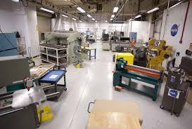 sheet metal shop nasa