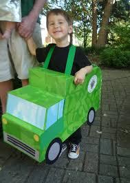 Truck Halloween Costume Namesake Design Green Halloween