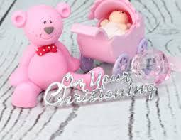 christening u0026 baby shower cake decorations