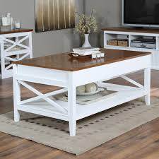 belham living hampton lift top coffee table white oak hayneedle