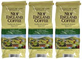 amazon com new england hazelnut crème decaf coffee ground 10