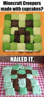 funniest nailed it minecraft i thought of my nephews and at least