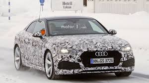 2018 audi rs 5 coupe spied flexing its new muscles update