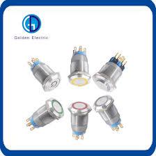12 volt push button light switch china waterproof metal 12 volt 24v 120v 220v push button switch