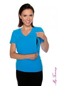 nursing clothes nursing t shirt turquoise my tummy production of maternity