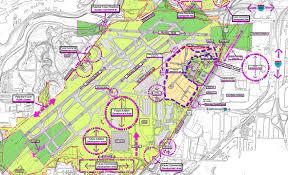 Map Of Laguardia Airport Cleveland Hopkins International Airport Landrum U0026 Brown