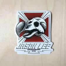 Blind Skate Logo Blind Skateboards Logo Vinyl Sticker Skull Decal Spoof Jason Lee
