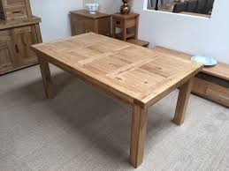 Oak Dining Furniture Oxford Solid Oak Extending Dining Table 6ft Oak Furniture Oakita