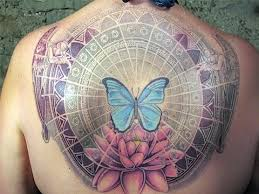 awesome detailed colored with big butterfly