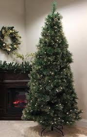 7 pre lit newport mixed pine artificial tree multi