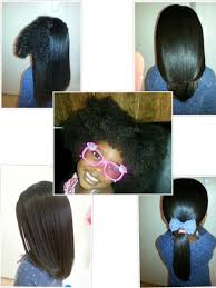 black hairstyles for 13 year old 3 5 year old na eliah blow dried and flat ironed hair shared by
