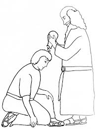 Bible Story Coloring Page For Samuel Anoints King Saul Free Samuel Coloring Pages