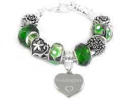goddaughter charm bracelet goddaughter charm etsy